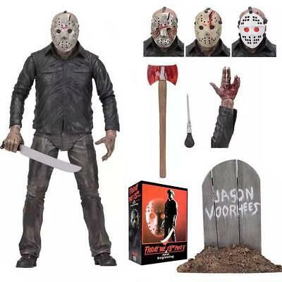 "NECA Friday The 13th Toy 7"" Scale Figure Ultimate Part 5 Jason Voorhees Modell"
