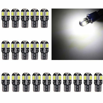 10Pc T10  LED Car Canbus Error Free Light Lamp Bulb 5730 168 194 W5W