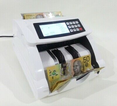 AUSCOUNT MONEY COUNTING MACHINE  - AUS5700R + RECHARGEABLE  was $945 Now $795