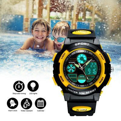 Kids Sport Watch Outdoor LED Digital for  Teenagers Boys Girls Xmas Gift