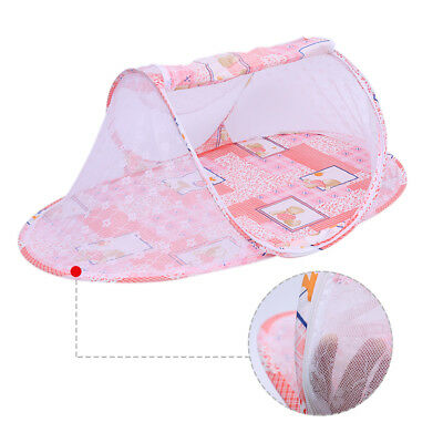 Baby Infants Room Mosquito Tent Net Instant Crib Bed Travel Indoor Use Portable