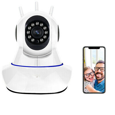 1080P Wired Wireless Security Wifi IP Camera Smart Video System Home Pet Monitor