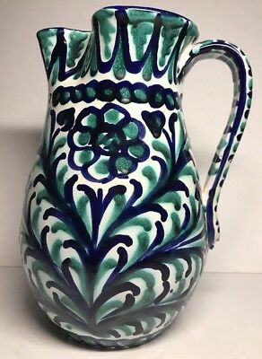 Pottery, Porcelain & Glass Pottery Pitcher In Ceramic By Alfo Ref 302762412996