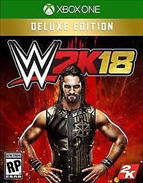 New sealed- WWE 2K18: Deluxe Edition (Xbox One, 2017, 2018, 1)