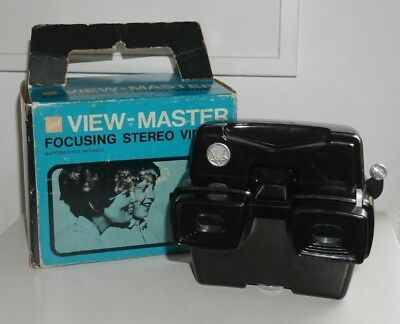 Sawyer's Viewmaster Lighted Stereo Viewer Model D Rare Working * Boxed * C937