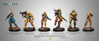 Invincible Army (Yu Jing Sectorial Starter Pack) Corvus Belli New 281304-0753