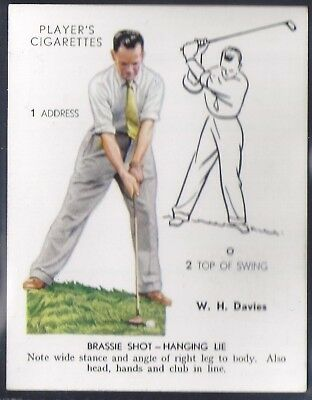 Players-Golf (Uk Issue L25)-#12- Brassie Shot - W. H. Davies