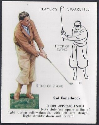 Players-Golf (Uk Issue L25)-#15- Short Approach Shot - Syd Easterbrook