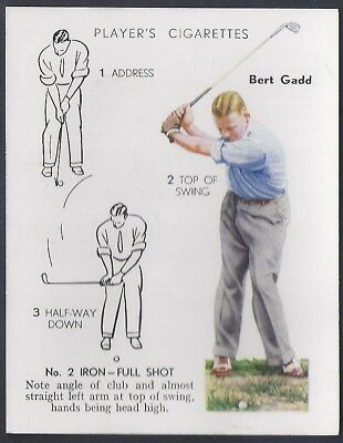 Players-Golf (Uk Issue L25)-#16- Iron Full Shot - Bert Gadd