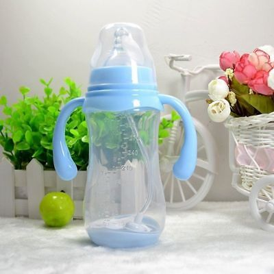 Anti Flatulence Baby Bottles With Dust Cover And Temperature Sensing Wide Mouth