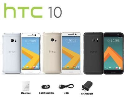 """HTC 10 M10 5.2"""" Gold Silver Grey 32GB Android Factory Unlocked Smartphone Boxed"""