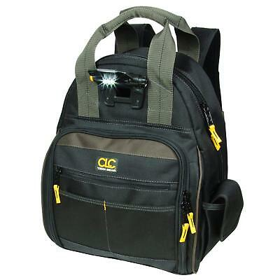 CLC L255 53 Pocket - Lighted Tool Backpack Bag