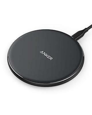 Anker Wireless Charger, Qi-Certified Ultra-Slim Wireless Charger for iPhone X