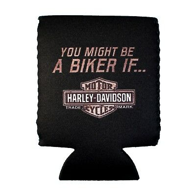 Sturgis Harley-Davidson® You Might Be a Biker Can Coozie