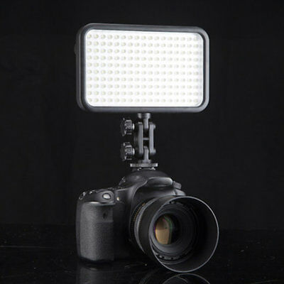 1pc 228LED Video Light for Camera DV Camcorder Lighting 6000K/3200K Black Case