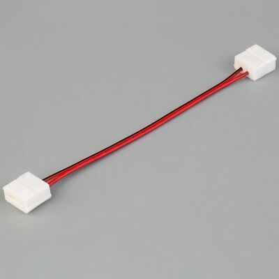 10mm Double End 2pin PCB Board Connector Wire for 5050 Single Color LED Strip