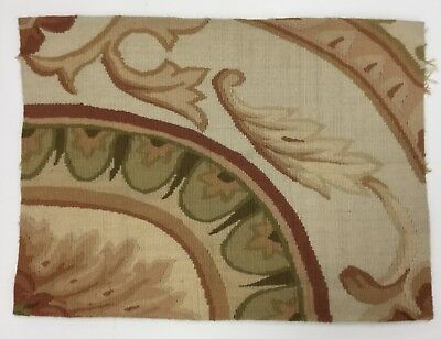 Antique Aubusson Tapestry Fragment