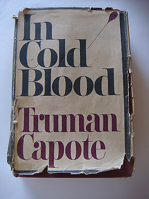 In Cold Blood By Truman Capote First Edition/ First Printing!