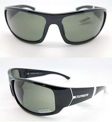3f84e688d7 NEW Suncloud sunglasses Turbine Black Gray Polarized Unisex Large Mens
