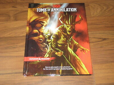 D&D 5th Edition Tomb of Annihilation Hardcover Adventure WotC 2017 Neu