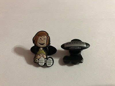 Peppermint Patty Sitting Shoe-Doodle Peppermint Patty Charm for Crocs PEA3004