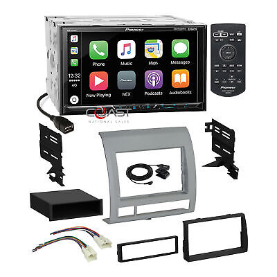 Pioneer USB Carplay GPS Ready Stereo Dash Kit Harness for 2005-11 Toyota Tacoma