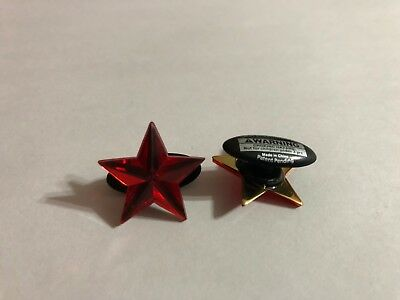 Red Star Shoe-Doodle  Red Shoe Charm for Crocs Shoe Charms PSC505