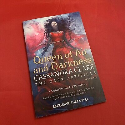 Queen of Air and Darkness - Cassandra Clare - Exclusive Limited Sampler PB - NEW