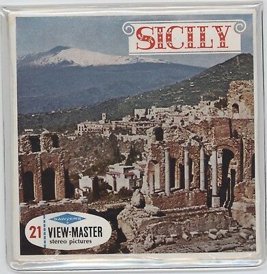 View-Master C055E SICILY ITALY Sealed Unopened  *Free Shipping*