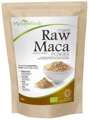 Organic Maca Powder 300g Packed With Healthy Nutrients Delicious Malty Flavour