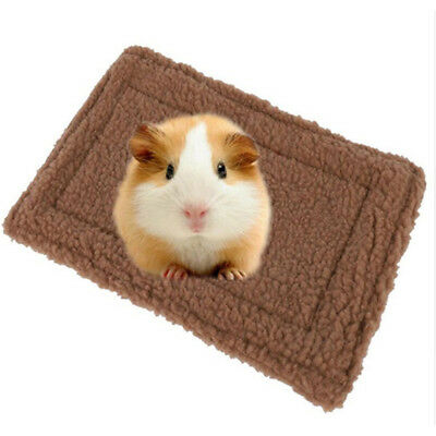 Hamster Guinea Pig Rabbit House Bed Winter Warm Soft Small Animals Mat Nest G