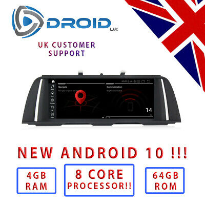 "BMW F10 F11 **NEW 2019 Android 8.1 !! ** *6 CORE* 10.25 "" 5 series For NBT"