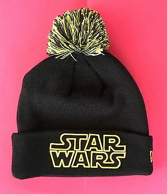 ... hats onlinetimeless 28d22 2551e coupon code new disney parks star wars  pom cuffer mens beanie pom cap black starwars cuffed ... 840794b1270e