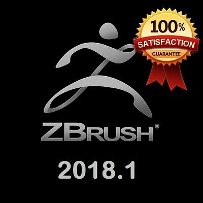 ZBrush 2018 3D digital sculpting with latest 2018.1 update 100% working 64 bit