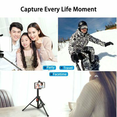 Foldable Tripod Bluetooth Wireless Selfiestick for Phones Action Cameras BZ