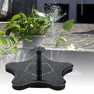 Starfish Water Floating Pump Solar Power Fountain Greenhouse Irrigation Tools