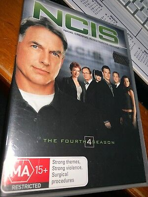 NCIS : Season 4 (DVD, 2008, 6-Disc Set) R4 Brand New Sealed