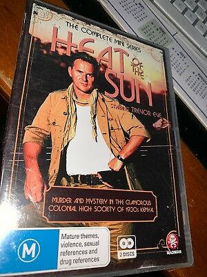 Heat Of The Sun - The Complete Mini Series (DVD, 2012, 2-Disc Set) Brand New