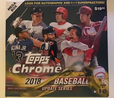 2018 Topps Chrome Update Baseball Singles Complete Your Set Pick Cards Target