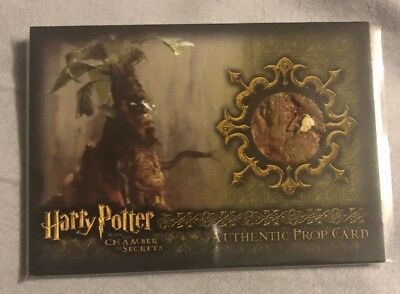 Harry Potter COS Mandrake Prop Card P5