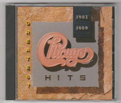 Chicago Greatest Hits 1982 1989 - CD - Hard to Say I'm Sorry, Look Away, More...