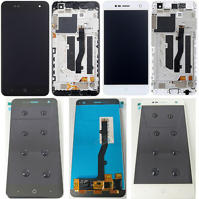 """Original New For ZTE Blade V8 MINI 5"""" LCD Display Touch Screen Digitizer + Frame"""