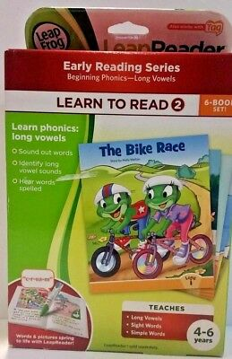 Leap Frog LeapReader Learn to Read 2 Early Series 6-Book Set 3318