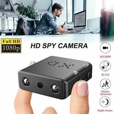HD 1080P Mini Spy Hidden Camera Security Cam DVR Night Vision Motion Detection