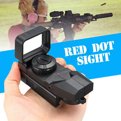 Black Tactical Holographic Reflex Red Dot Sight Scope for Hunting Magnifier