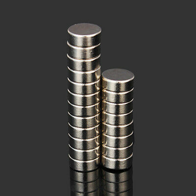 20Pc 10X4Mm N52 Neodymium Strong Powerful Round Rare Earth Diy Magnet Tool Ornat