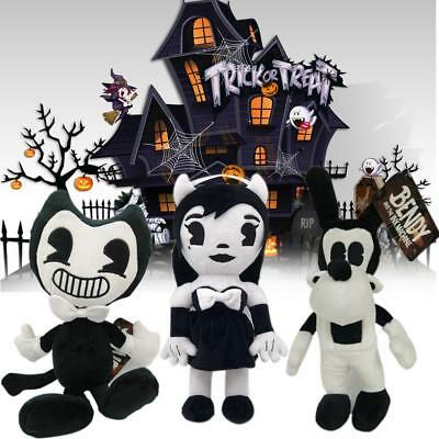 NEU  Bendy And The Ink Machine Series Figure Bendy Boris Plush Toys Doll