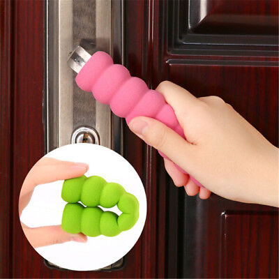 3pc Door Handle Cover Pad Safty Protector Guard Foam For Baby Kid Toddler  LS