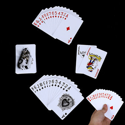 Poker Cards Waterproof Durable Pvc Plastic Playing Cards Novelty Poker Card ZUHN