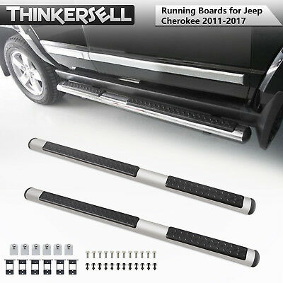 Running Board Side Step Nerf Bar Aluminium Fit for JEEP Grand Cherokee 2011-2017